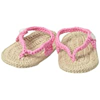 Jefferies Socks Baby-Girls Newborn My First Flip Flops Girl Bootie