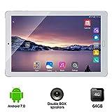 Pudincoco Mini 10,1' Appel téléphonique Original du Projet 3G Android 7.0 8 Kern-64 Go Tablette PC PC PC PC PC PC PC PC PC Double Carte