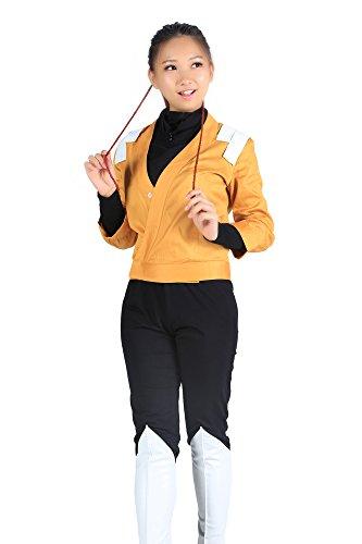 """De-Cos Bleach Cosplay Costume """"Demon cat†Shihouin Yoruichi 2nd Ver Outfit Set (Bleach Yoruichi Cosplay Kostüm)"""