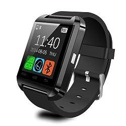 U8 Bluetooth Smart Wrist Watch Phone Mate For Android Samsung Htc Lg (Black)