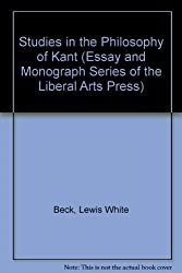 Studies in the Philosophy of Kant