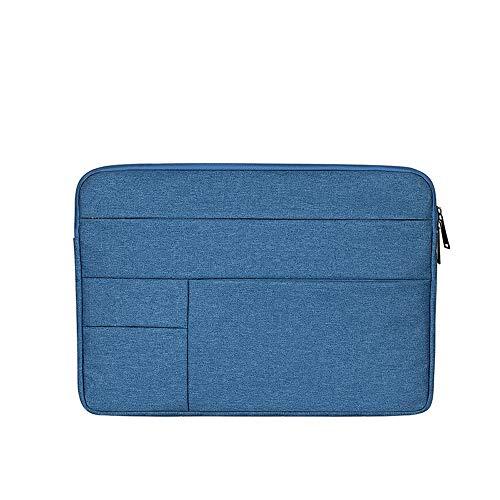 Baomasir Sleeve Case Oxford-Stoff wasserabweisend Laptop Hülle kompatibel 13-13,3 Zoll MacBook Pro/Air, Multi-Objekt-Tasche, große Kapazität, Blau 13 Oxford