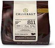 CALLEBAUT Receipe No. 811 - Couverture Callets, pure chocolade, 54,5% cacao, 1 x 400G