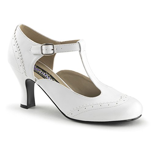 Heels-Perfect, Scarpe col tacco donna Bianco (Weiss (weiss))