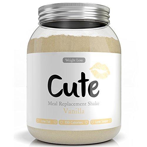 Milk-Shake/Smoothie Vanille pour maigrir tout en restant en forme - Substitut de repas diététique...