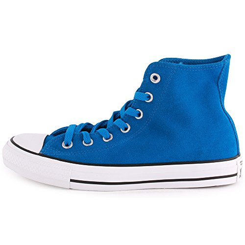 Converse, All Star HI Suede, Sneaker, Unisex - adulto Blu