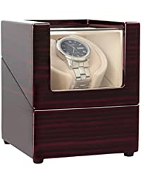 CHIYODA Automatic Single Watch Winder with Quiet Mabuchi Motor
