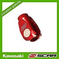 Distanciador Pedal Leva Bomba Freno Trasero KAWASAKI KX KLX 85 125 150 250 SCAR - Rojo