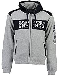 Geographical Norway - Sweat à capuche Enfant Geographical Norway Glapping Gris