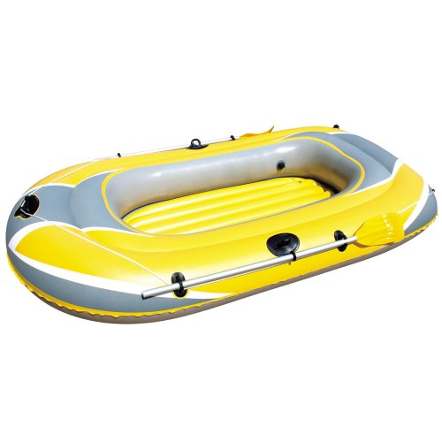 Hydro-Force Raft Set - Boot 228x121 cm, inkl. Blasebalg und 2 Paddeln