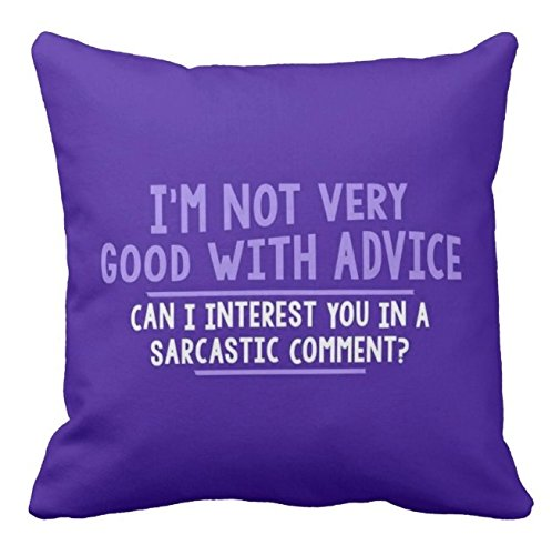 Giftcart Sarcastic Comment Cushion