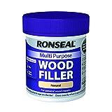 Ronseal RSLMPWFN250G - Stucco per legno multiuso, barattolo da 250 g, colore: Naturale