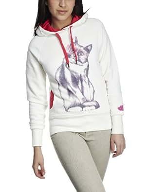 Eastpak Women's Dasha Sweatshirt White Cat EA815C76 X-Large