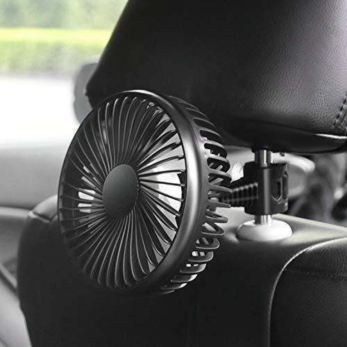 Zinniaya Ventilador Universal para automóvil 12V / 24V General Motors Ventilador eléctrico...