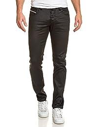BLZ jeans - Jeans homme noir huilé