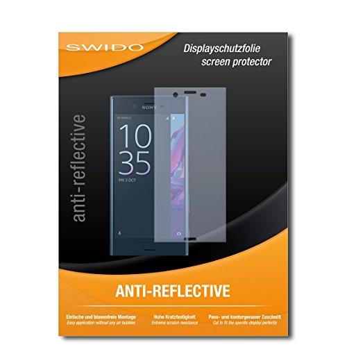 SWIDO Schutzfolie für Sony Xperia XZ [2 Stück] Anti-Reflex MATT Entspiegelnd, Hoher Härtegrad, Schutz vor Kratzer/Bildschirmschutz, Bildschirmschutzfolie, Panzerglas-Folie