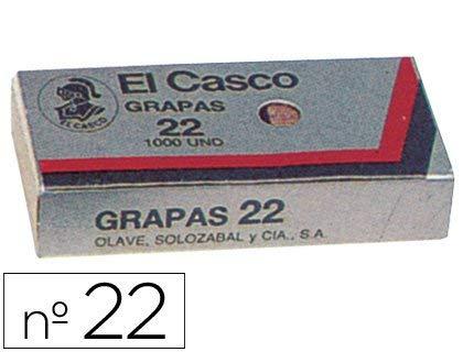 El Casco 129163 - Caja 1000 grapa galvanizadas Nº