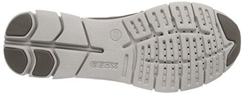 Geox D Sukie B, Scarpe da Ginnastica Donna Beige (C1018 Dove Grey)