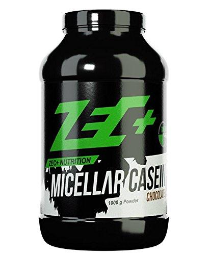 ZEC+ MICELLAR CASEIN Protein-Shake | Langzeitversorgung mit AMINOSÄUREN | perfekt vor dem SCHLAFENGEHEN oder langer Nahrungskarenz | VANILLE 1000g