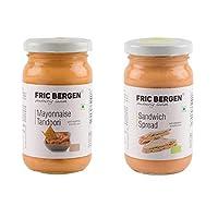 Fric Bergen Mayonnaise Tandoori Sauces and Sandwich Spread-Bottle Combo