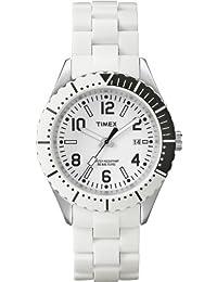 b54b1365cd8a Timex T2P004D7 - Reloj analógico de Cuarzo para Mujer con Correa de  Silicona
