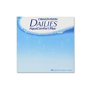 Dailies Aquacomfort Plus Tageslinsen weich