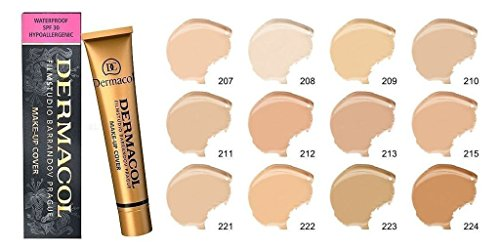 Dermacol Make-up Cover Waterproof Hypoallergenic Foundation 30g Authentic from Authorized Stockists (207)