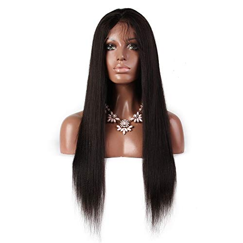 Preisvergleich Produktbild ZhiGe Lace perücke, Ehemalige Spitze echte Haarperücke Kopfbedeckungen-weibliche Natur
