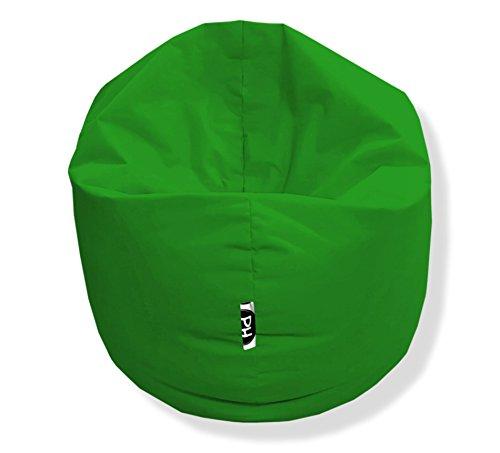Sitzsack 100cm Durchmesser 2 in 1 | Grün - 300 Liter in 25 Farben und 3 versch. Größen