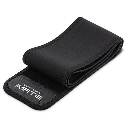 YISSVIC Fitness Cintura Addominali Fascia Elastica Lombare Sostegno Fitness Adatta per Allenamenti Quotidiani in Palestra E all Aperto Unisex Nero