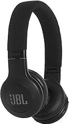JBL E45BT On-Ear Bluetooth Kopfhörer - Headphones mit Textil-Kopfbügel und abnehmbarem Klinkenstecker Kabel - Bis zu 16 Stunden Akkulaufzeit Schwarz