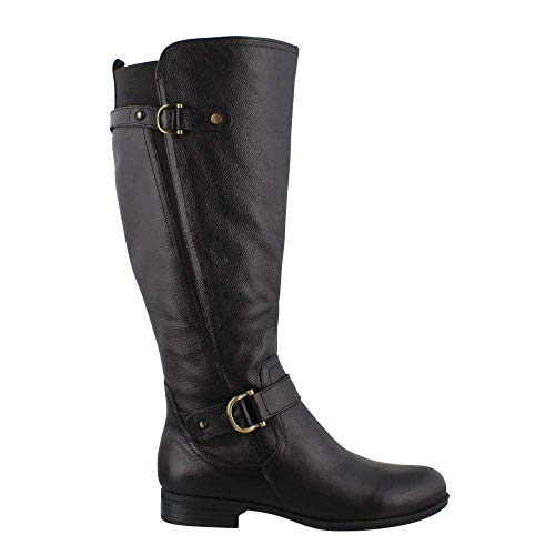 Naturalizer Frauen Stiefel Schwarz Groesse 7 US /38 EU - Naturalizer Wide Calf Boots