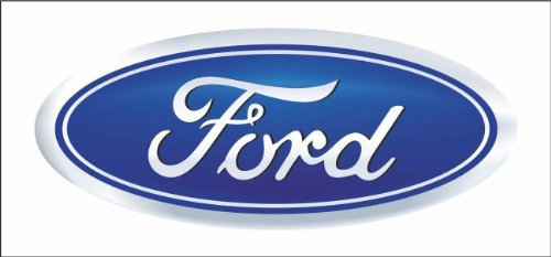 Ford auto rally formula 1 racing decal sticker ()