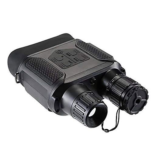 Prismáticos de visión Nocturna, prismáticos para Adultos, visión Nocturna por Infrarrojos, Binocular de Caza con Gran Pantalla de visualización Puede Tomar Fotos de día o de Noche IR y vídeo de 500 m