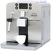 Gaggia Brera Superautomatic Espresso Machine, Silver by Gaggia
