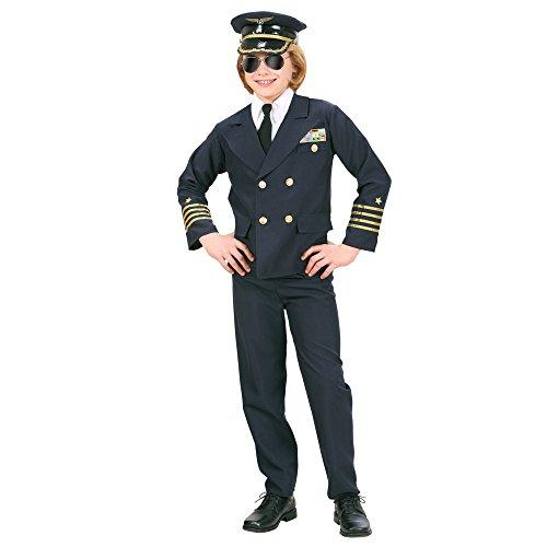 kostüm Pilot, 164 (Kapitän Preis-halloween-kostüm)