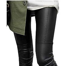 IHRKleid Damen Leggings Schwarz Baumwolle Legging M/L/XL/XXL