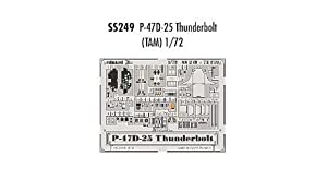 Eduard Accessories ss249 30502000 P-47D de 25 Thunderbolt