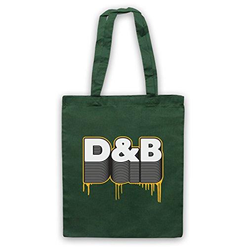 D&B Drum And Bass Umhangetaschen Dunkelgrun