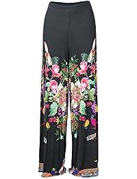 Desigual Abbigliamento it Donna Pantaloni Amazon qxY54HW