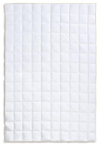 Frau Holle Daunen-Bettdecke für den Sommer aus 100% Gänsedaunen, 135 x 200 cm, 200 g - - Gänsedaunen Bettdecke