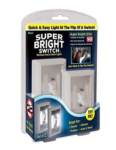 Mulang Wireless schälen und Stick LED Lights-Wasserhahn Licht, Touch, Nacht, Utility, unter Schrank, Schuppen, Küche, Garage, Keller (Utility-schrank-licht)