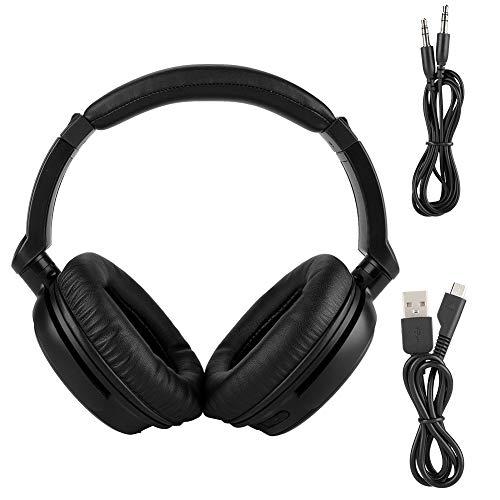 R4.2 Kopfhörer Over Ear, faltbar Noise Cancelling Kopfhörer, Stereo HD Sound Drahtlose Headset Over Ear für Handy, PC Computer ()