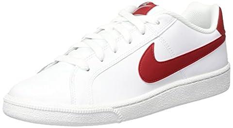 Nike Court Royale, Chaussures de Tennis Homme, Blanc Cassé (White/gym Red/cobblestone), 42 EU