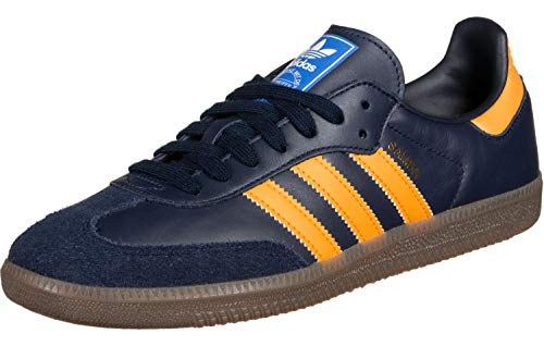 Adidas Samba OG Navy Real Gold White 42