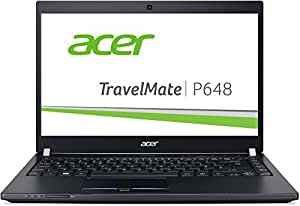 Acer TravelMate P648 (P648-M-575U) 35,56 cm (14 Zoll) Full HD IPS (Intel Core i5-6200U, 8 GB RAM, 256 GB SSD, Intel HD Graphics 520, Win 7 Pro + Win 10 Pro) schwarz