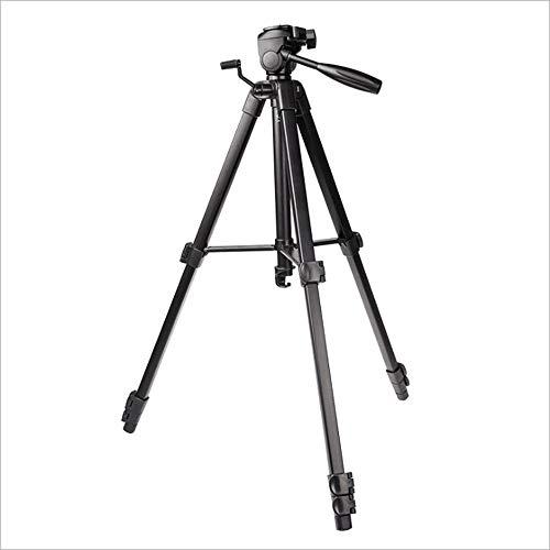 LMM Micro Single-Camcorder-Stativ, Unterstützung für 360 ° -Panoramaaufnahmen, Reflexspeicher, leicht und tragbar, mit schwerem Haken, für Handykamera