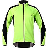 JullyeleESgant Fahrrad Radfahren Sport Jacke Männer Reiten Kleidung Reflektierende Breathable Langarm Windbreaker Fahrrad Herbst Winter Radfahren Tops