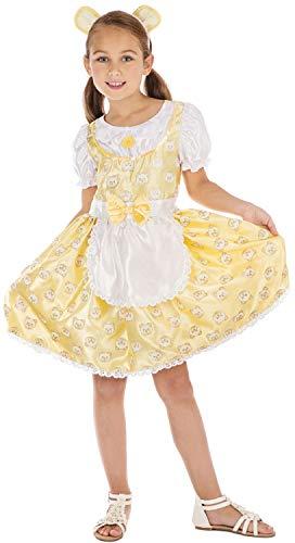 Fancy Me Mädchen-Kostüm/Kindergartenkostüm, Motiv: Goldilocks, englische Aufschrift, 6-12 Jahre