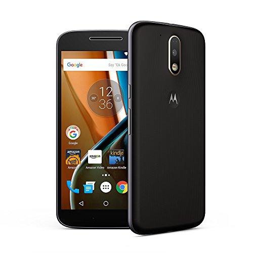 Moto g4 plus Moto G Plus, 4th Gen with Android 7.0 Nougat OS(Black, 16 GB)